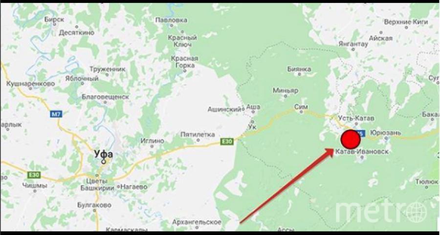 Эпицентр землетрясения был в Уральских горах.