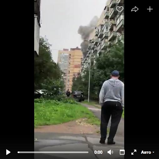 При пожаре на Дунайском погиб мужчина.