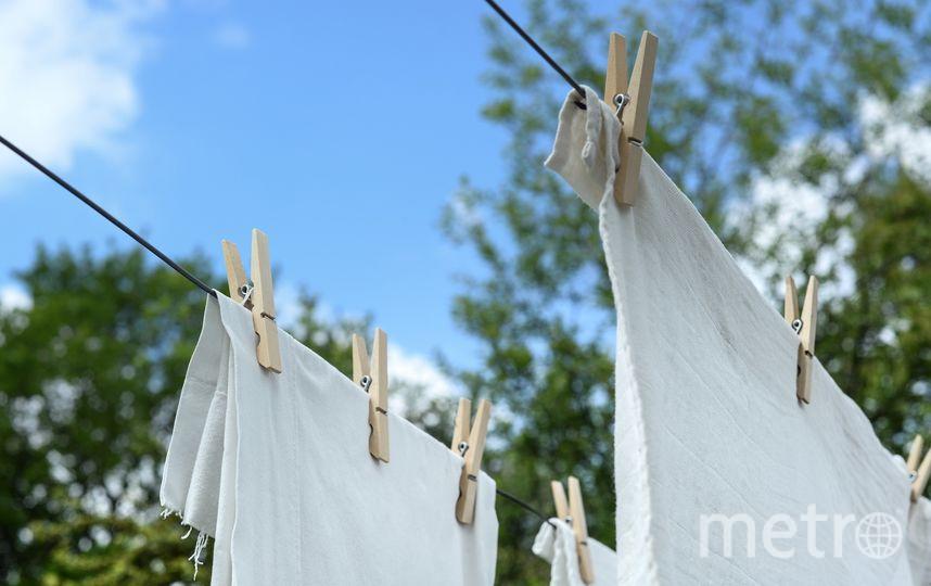 Хлопчатобумажное постельное бельё и полотенца рекомендуется стирать при температуре от 60 до 90 градусов. Фото Pixabay