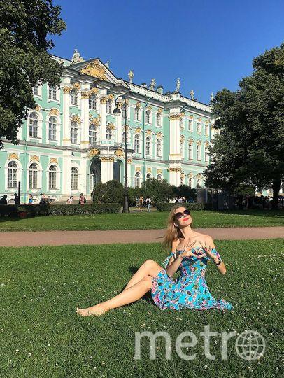 """Добрый день . Мне зовут Анна Иванова и я очень хочу поучаствовать в вашем конкурсе и присылаю вам своё солнечное фото. Фото """"Metro"""""""