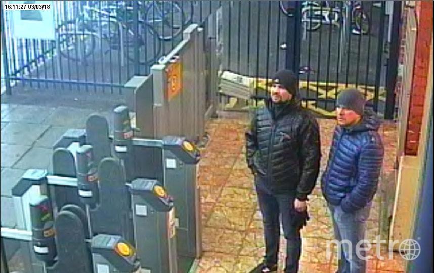 Александр Петров и Руслан Боширов, обвиняемые в отравлении Скрипалей. Фото AFP