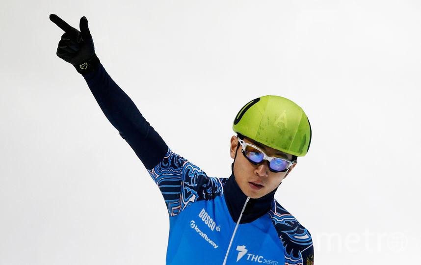Шестикратный олимпийский чемпион по шорт-треку Виктор Ан. Фото Getty
