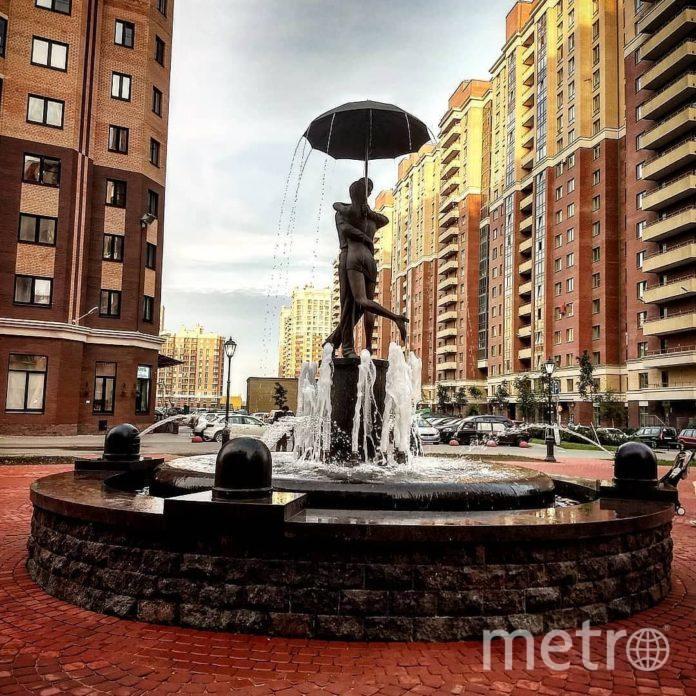 Скульптура в Кудрово. Фото Мегаполис.