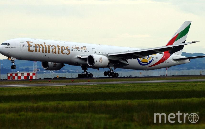 Инцидент произошёл на рейсе авиакомпании Emirates. Фото Getty