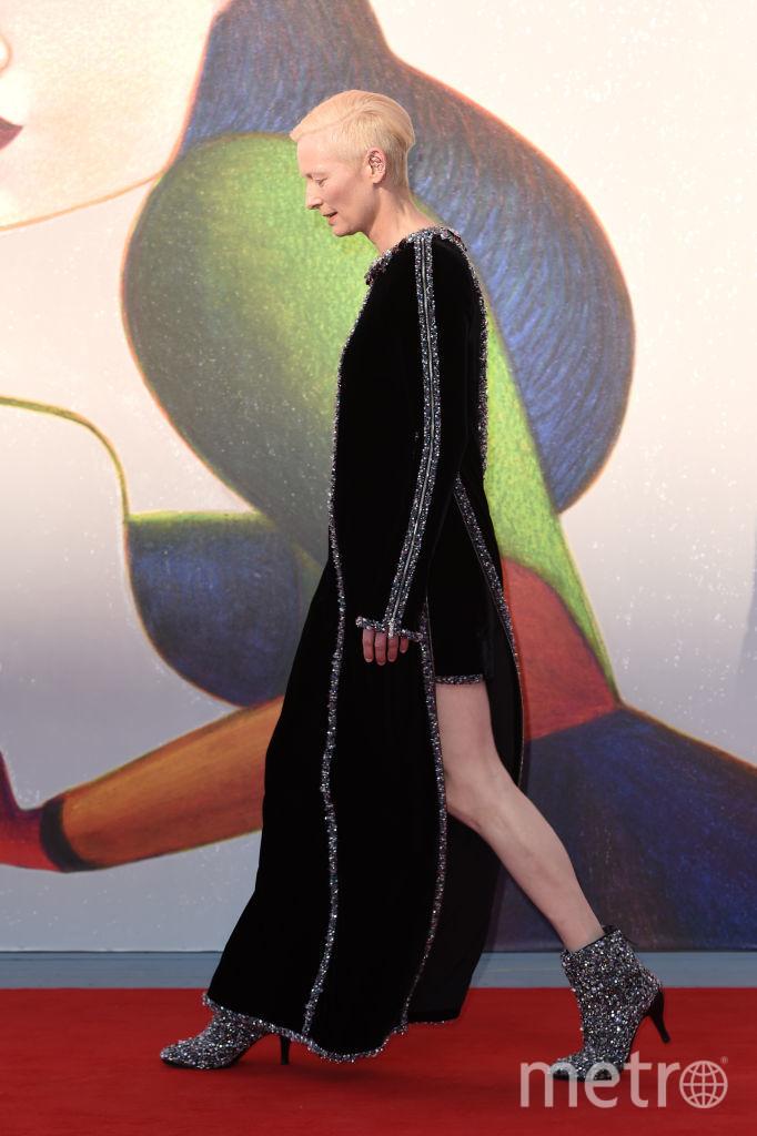 Тильда Суитон, Венецианский кинофестиваль, фотоархив. Фото Getty
