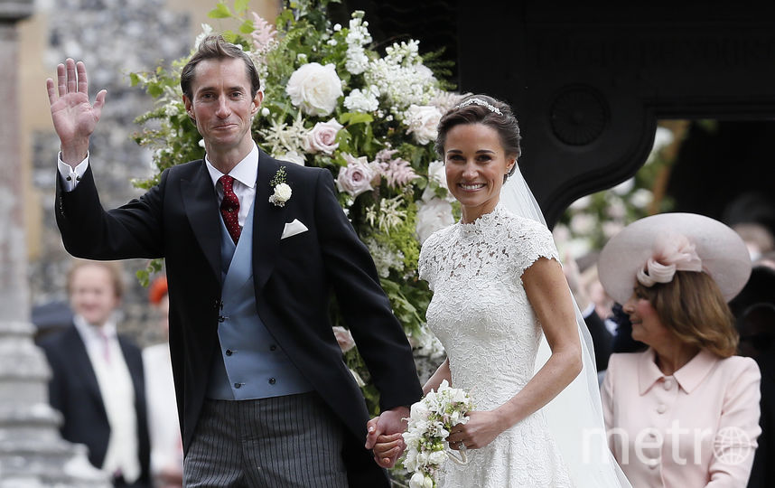 Пиппа Миддлтон с супругом Джеймсом Мэттьюзом. Фото Getty