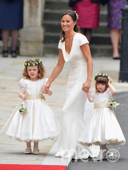 В 2011-м году на свадьбе Кейт Миддлтон. Фото Getty