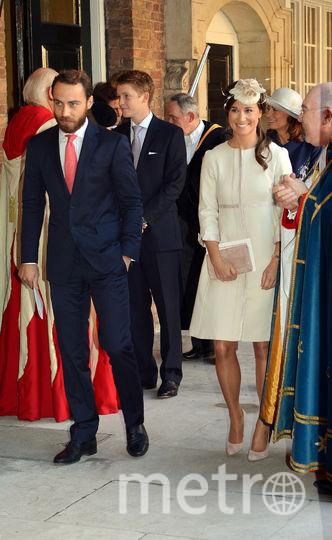 На крестинах племянника принца Джорджа. Фото Getty
