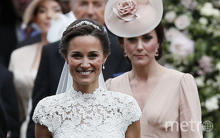 Свадьба Пиппы Миддлтон 20 мая 2017 года. Фото Getty