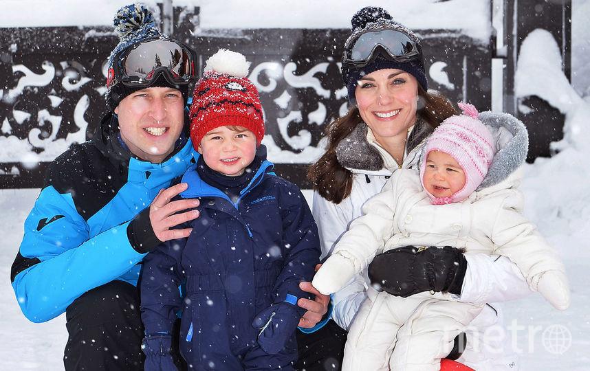 Принц Уильям, Кейт Миддлтон, принц Джордж и принцесса Шарлотта. Фото Getty