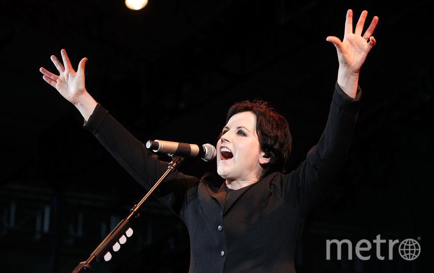 Вокалистка ирландской группы The Cranberries Долорес О'Риорданн. Фото Getty