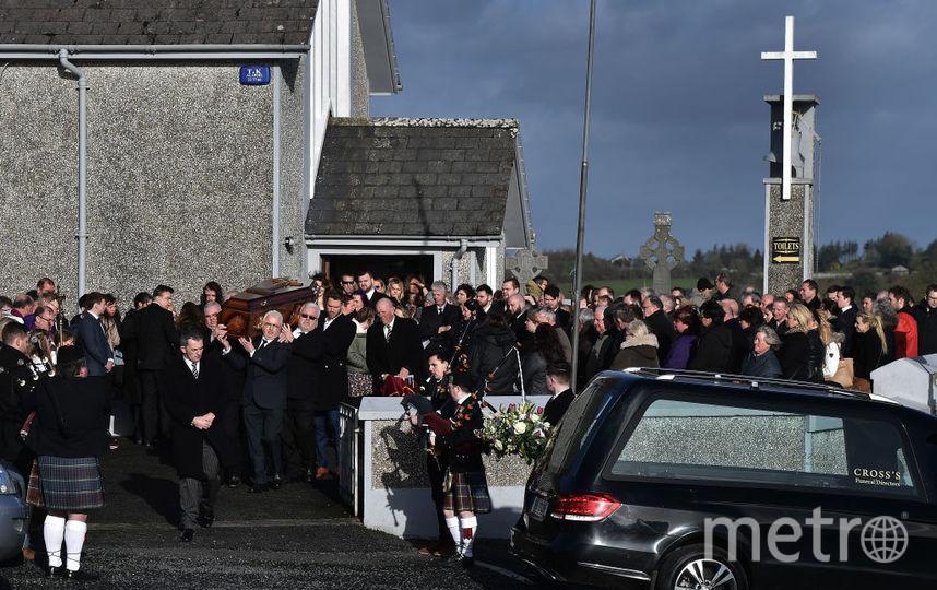 Похороны Долорес О'Риорданн, фотоархив. Фото Getty