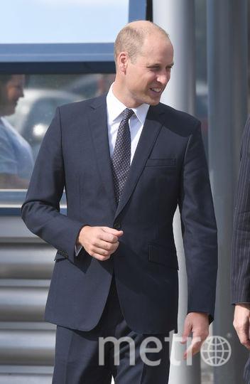 Принц Уильям посетил таможенный пункт центра логистики. Фото Getty