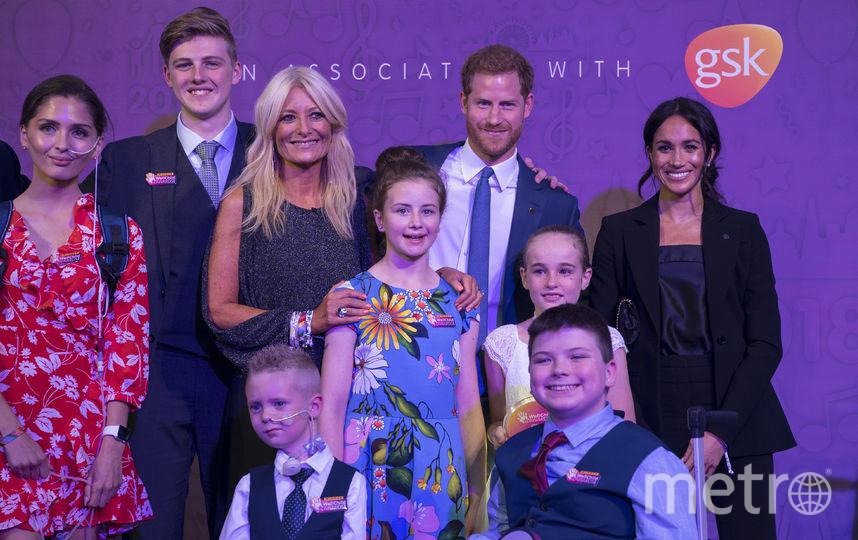 Меган и Гарри на WellChild Awards. Фото Getty