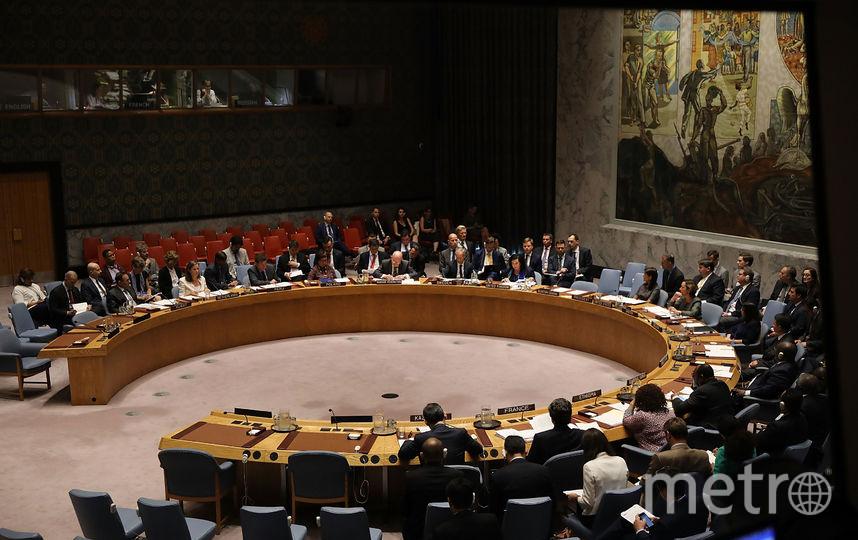 Заседание Совбеза ООН по делу Скрипалей. Фото AFP