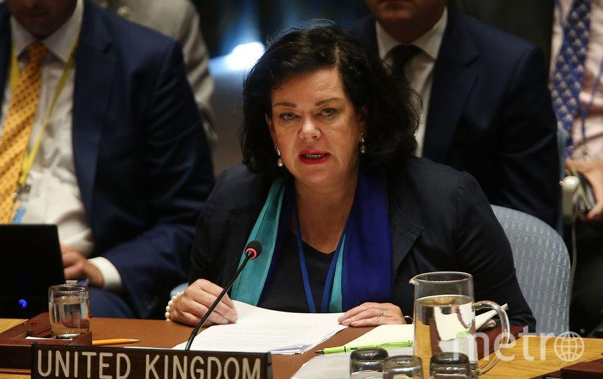 Представитель Великобритании в ООН Карен Пирс. Фото AFP