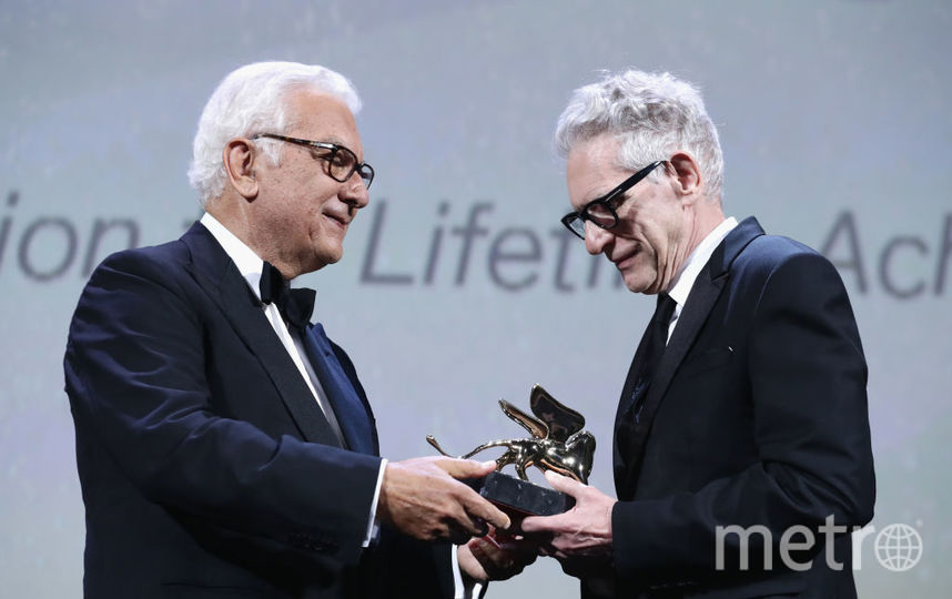 Дэвид Кроненберг получил награду на Венецианском кинофестивале. Фото Getty