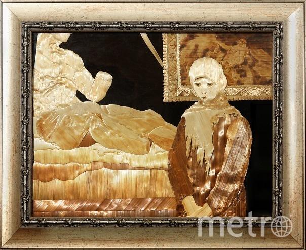 """Работы Георгия Энгельке «За что?!» и «Невский пятачок». Сейчас художник руководит студией «Волшебная соломка» в Культурно-досуговом комплексе «Красносельский». Фото из личного архива Георгия Энгельке, """"Metro"""""""