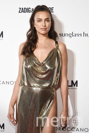 Модная премия в Нью-Йорке в день старта Недели моды. Ирина Шейк. Фото Getty