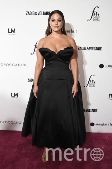 Модная премия в Нью-Йорке в день старта Недели моды. Эшли Грэм. Фото Getty
