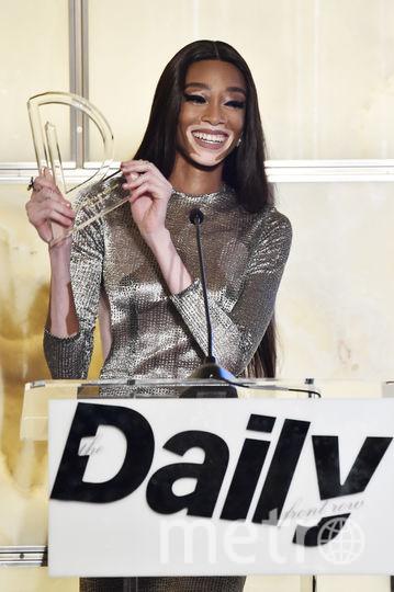 Модная премия в Нью-Йорке в день старта Недели моды. Винни Харлоу. Фото Getty