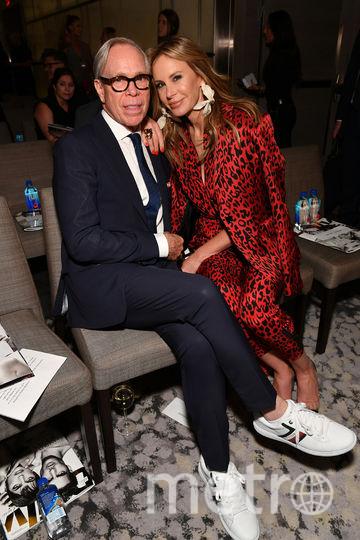 Модная премия в Нью-Йорке в день старта Недели моды.Т омми Хилфигер. Фото Getty