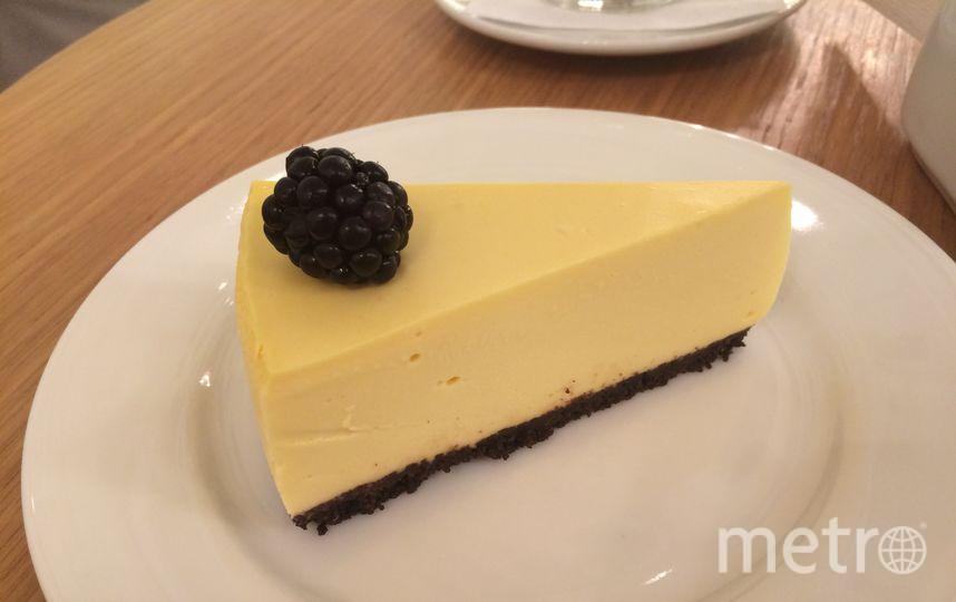 Чизкейк в Upside Down Cake. Фото Ольга Захарец