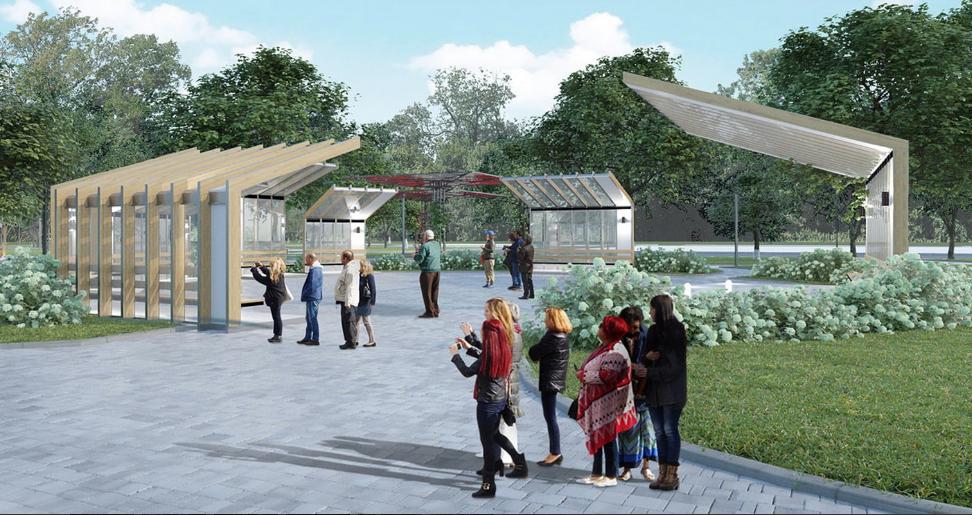 Парк имени Святослава Федорова, проектное решение. Фото mos.ru