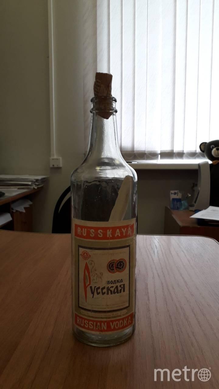 Бутылка с сюрпризом. Фото автор фото Наталья Цветкова.