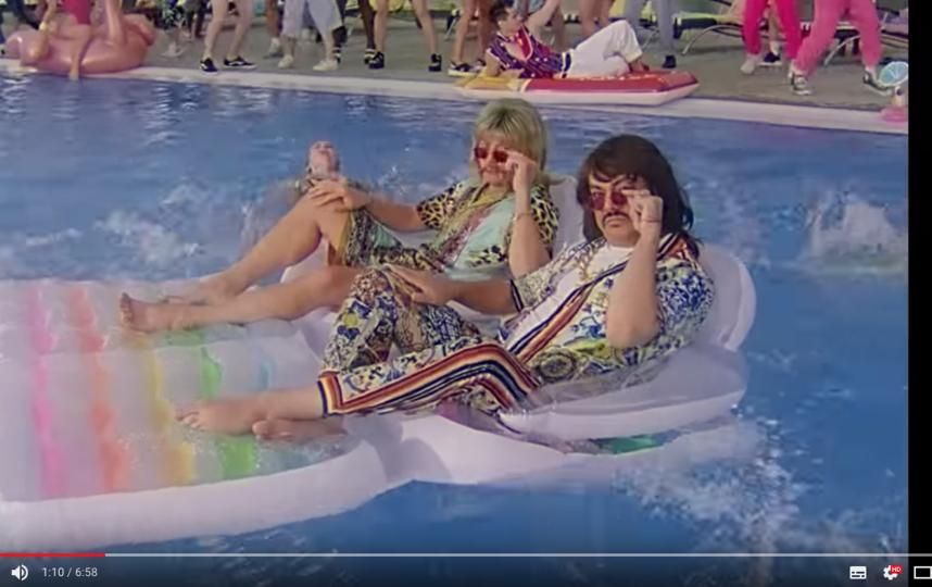 """Клип Баскова и Киркорова """"Ибица"""" уже посмотрели почти полтора миллиона человек. Фото скриншот https://www.youtube.com/watch?v=Yy3DH0gfnhQ"""