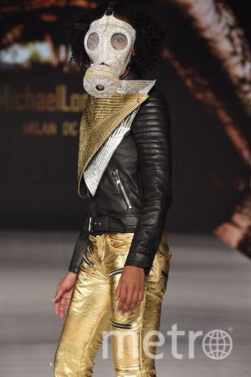 Новая коллекция бренда Michael Lombard на Неделе моды в Нью-Йорке. Фото AFP