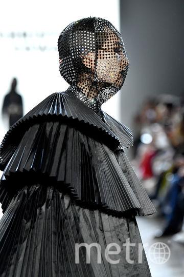 Шоу Christian Cowan на Неделе моды в Нью-Йорке. Фото AFP