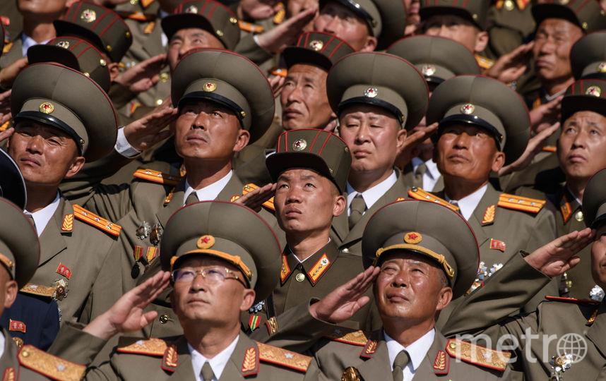 Военный парад в КНДР. Фото AFP