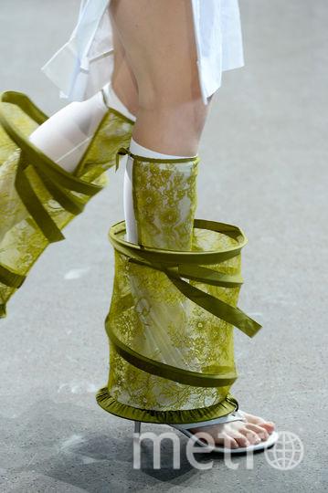 Новая коллекция бренда Parsons MDA. Фото AFP