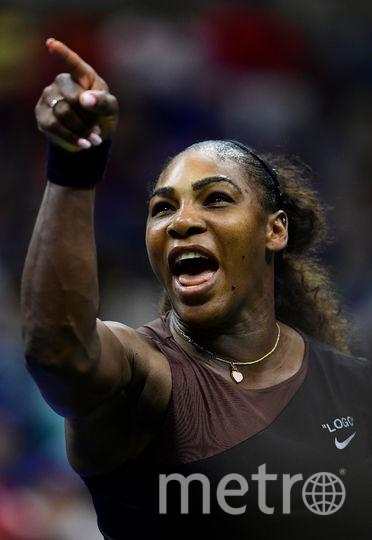Это не первый громкий скандал с участием Серены и судей. В финале US Open 2009 она пригрозила судье на линии засунуть мяч в глотку. Фото Getty