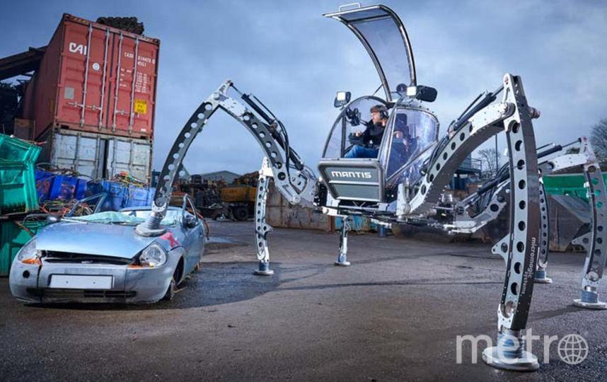 Самый большой ходячий робот. Фото Предоставлено организаторами