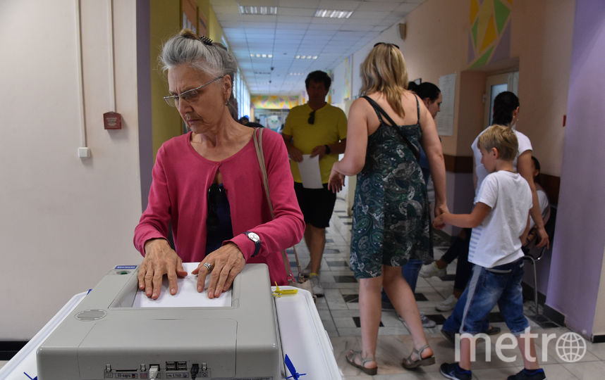 Выборы мэра Москвы прошли в Единый день голосования, 9 сентября. Фото AFP