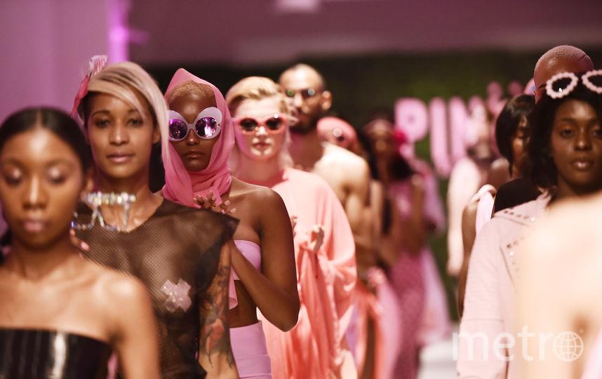 Модели на Неделе моды в Нью-Йорке. Фото Getty