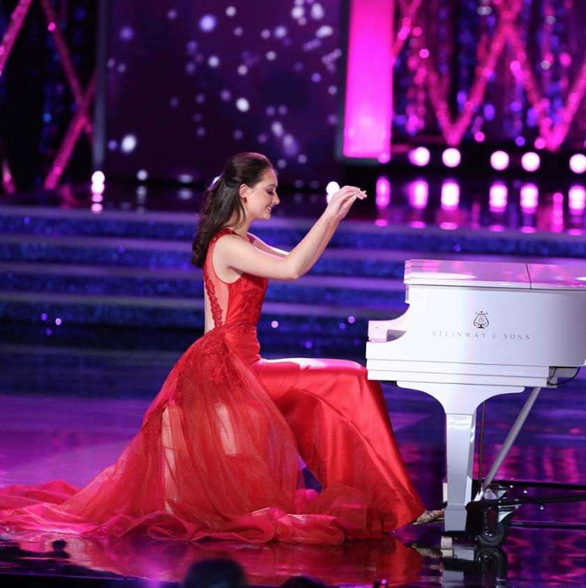 """Участница конкурса  """"Мисс Америка – 2019"""". Фото Скриншот facebook.com/missamerica/."""