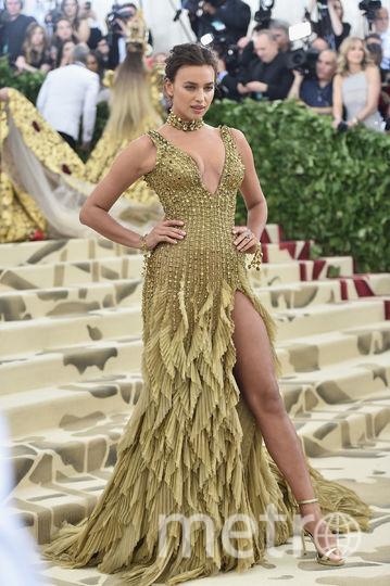 Ирина Шейк за последние полгода на публике появлялась с длинными волосами. Фото Getty