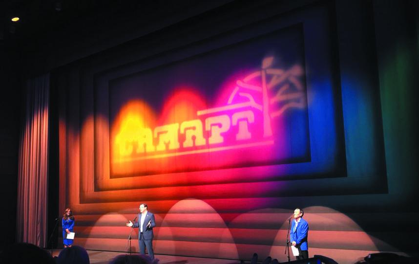 """В самарском театре юного зрителя «СамАрт» состоялось яркое открытие. Фото Егор Важнов, """"Metro"""""""