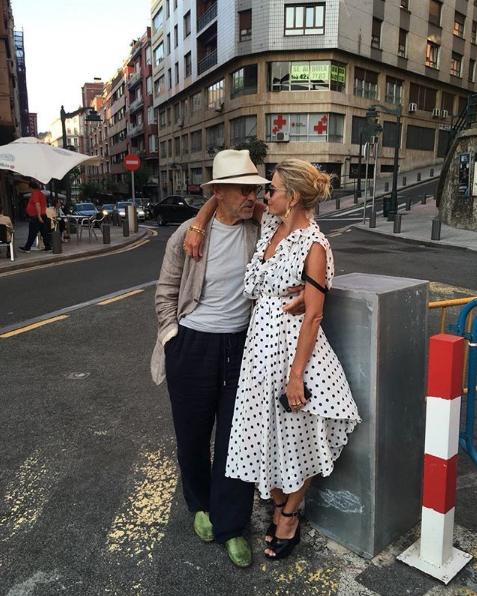 Высоцкая и Кончаловский. Фото Скриншот Instagram @juliavysotskayaofficial.