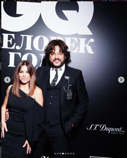 На премии журнала GQ. Филипп Киркоров. Фото https://www.instagram.com/