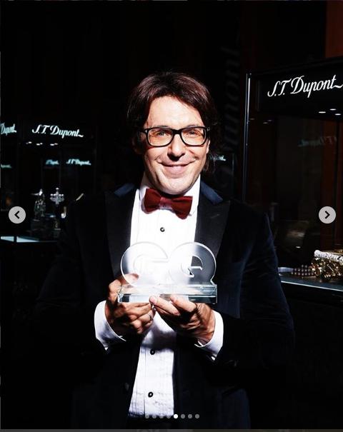 На премии журнала GQ. Андрей Малахов. Фото https://www.instagram.com/