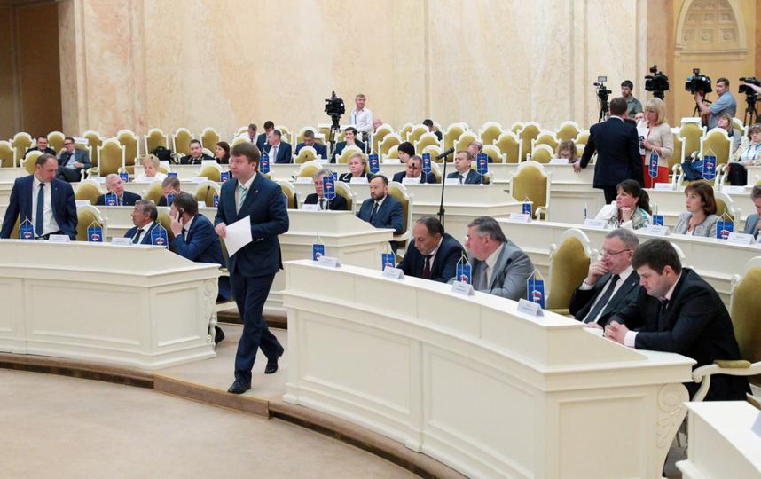 Заседание ЗАКСа, фотоархив. Фото www.assembly.spb.ru