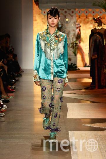 Неделя моды в Нью-Йорке: Anna Sui. Фото Getty