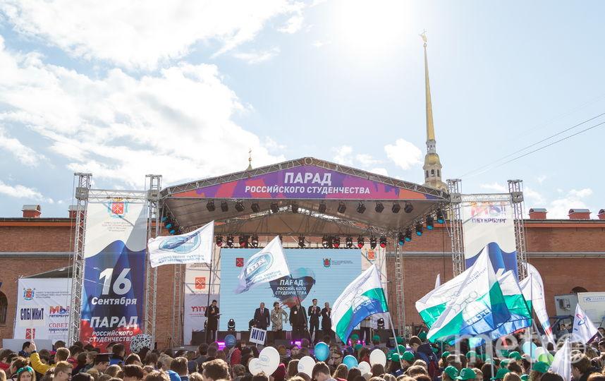 Парад проводится уже второй раз. Фото ГУАП
