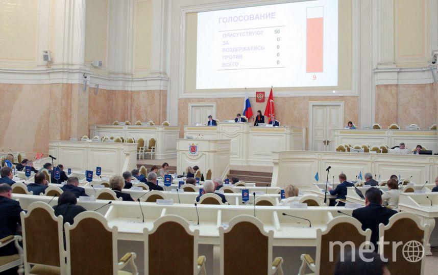 Заседание ЗАКСа, фотоархив. Фото http://www.assembly.spb.ru
