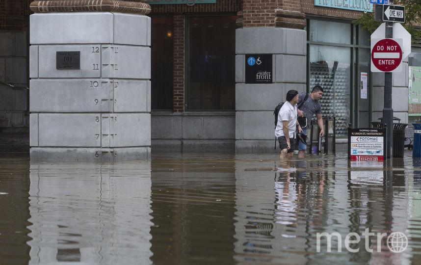 Последствия урагана Флоренс. Фото AFP