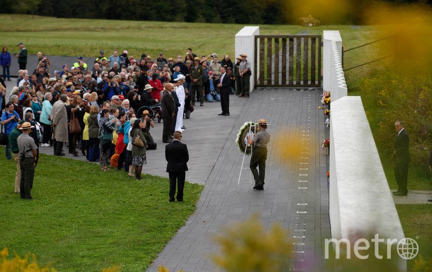 Окрытие мемориала в Шанксвилле. Фото Getty